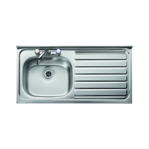 Sink Single Bowl, Single Drainer 500