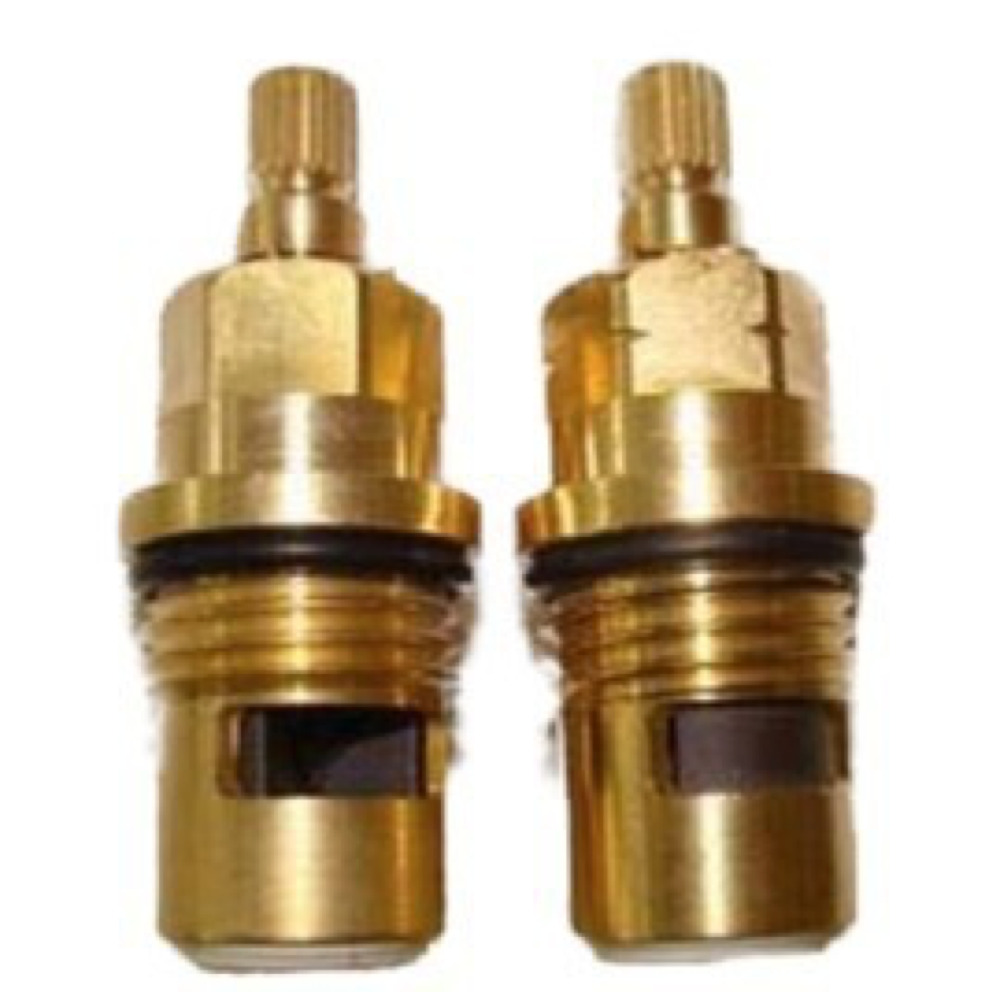 Pair Quarter Turn Internal Valves