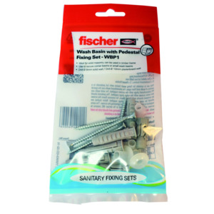 Fischer Sanitary Fixings Basin+ Ped