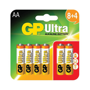 GP Ultra Alkaline Aa Batteries