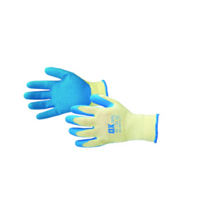 Ox Safety Pro Latex Grip Gloves