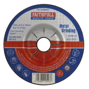 Metal Grinding Disc Depressed