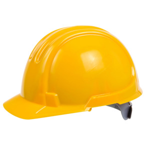 Ox Site Safety Hat Yellow Premium Unvented
