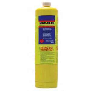 Mapp Yellow Gas Cylinder