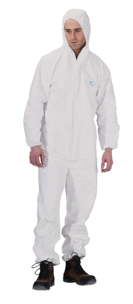 Tyvek Disposable Boiler Suit And Hood Medium