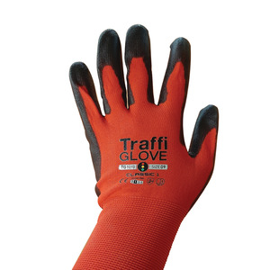 Gloves (PAIR) Red/Black Perfect Fit TG1010-10
