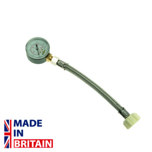 Monument Mains Water Pressure Gauge