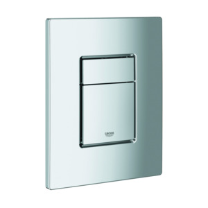 Grohe Vertical Skate Cosmo Dual Flush Plate Chrome Plate