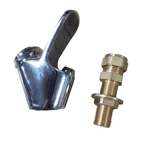 Chrome Plate Bubbler Valve And Inlet Tail For