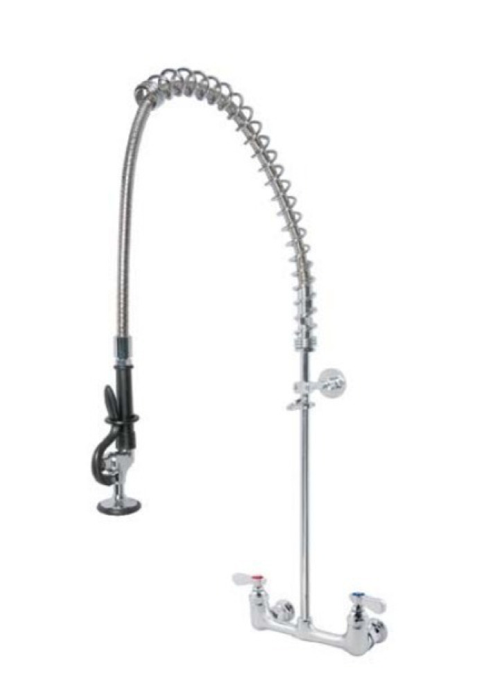 Santeen Pre Rinse Unit Wall Mounted Mixer