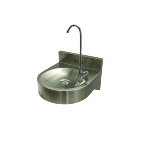 Wall Mounted Bottle Filling Fountain Stainless Steel