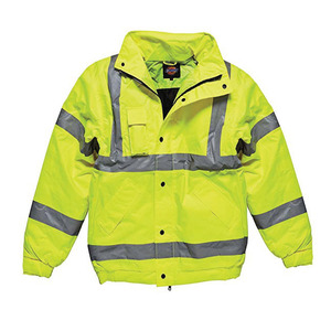 Handb Hi-Vis Yellow Bomber Jacket Dickies